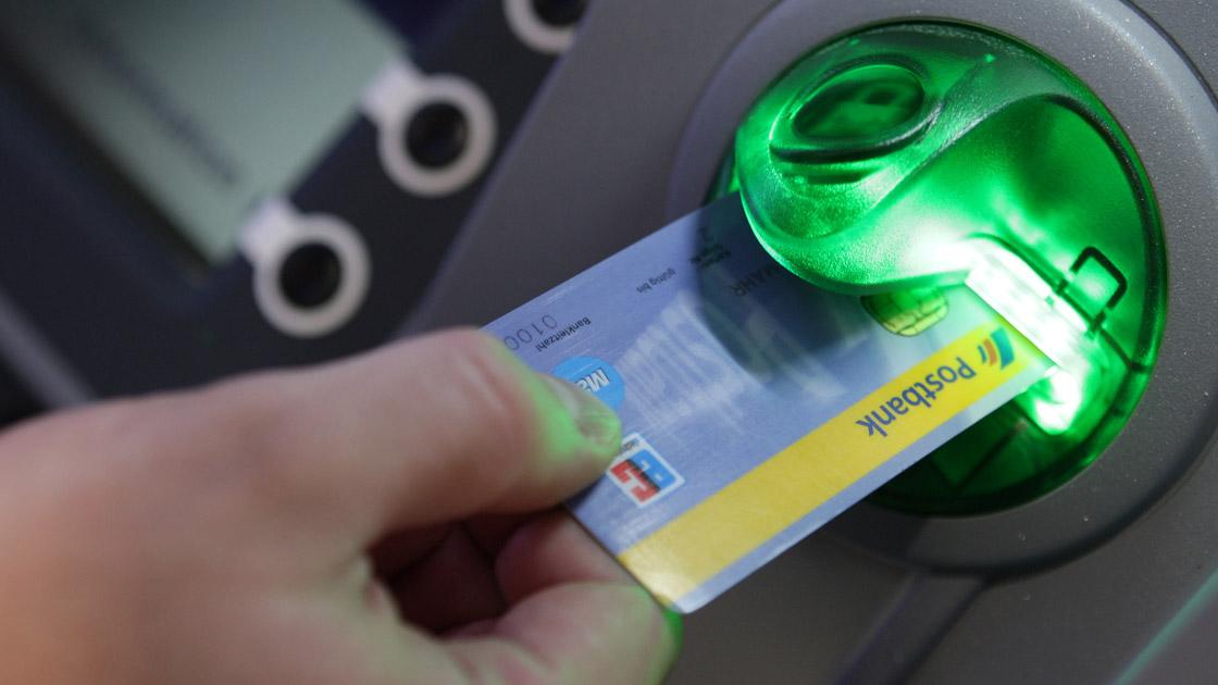 Geldautomat EC-Karte